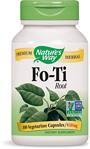 Fo Ti Root 100 Caps - Natures Way Foti Root