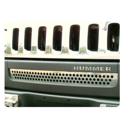 Hummer H3 Chrome Front Lower Grille (Hummer Grille compare prices)