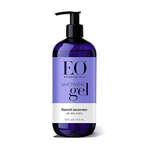 EO Shower Gel, French Lavender, 16 oz (Body Bath French Lavender)