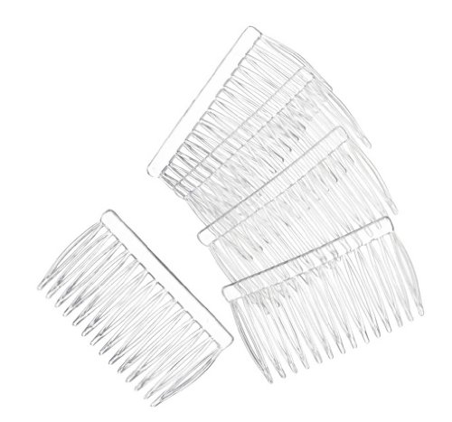 DARICE 10078-8 Hair Comb, Clear, 144-Pack