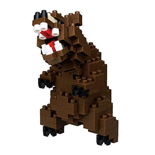 Nanoblock Grizzly Bear Building Kit