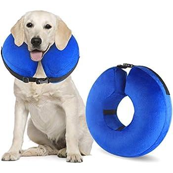 Amazon.com: WeHome Collar hinchable para mascotas, cono de ...