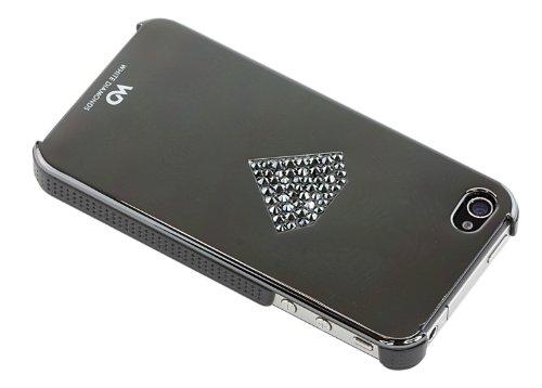 White Diamonds Rainbow Case Schutzhülle für Apple iPhone 4/4S anthrazit
