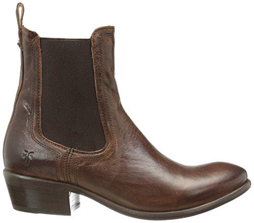 Frye Carson Chelsea botas de la mujer Marrón