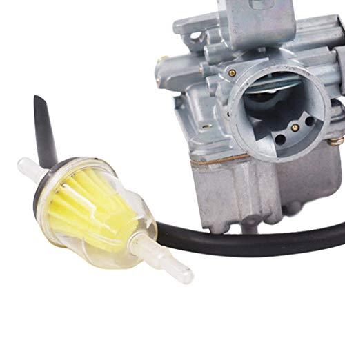 08 Carb Engine - Hotaluyt Replacement for Yamaha Raptor 50 YFM 50 ATV Carb 04 05 06 07 08 Carburetor Motorbike Accessories