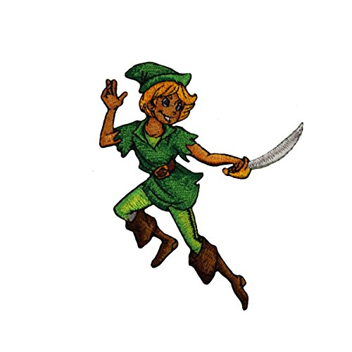 Walt Disney Peter Pan Sitting Collectible Embroidered Patch