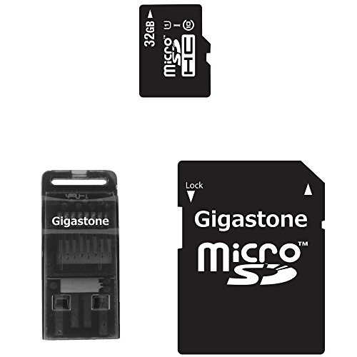 Gigastone 3in1 Class 10 UHS-1 32GB microSD Kit