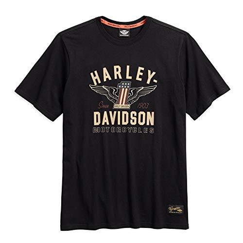 Harley T Shirts (Harley-Davidson Men's #1 Genuine Classics Graphic Tee,)