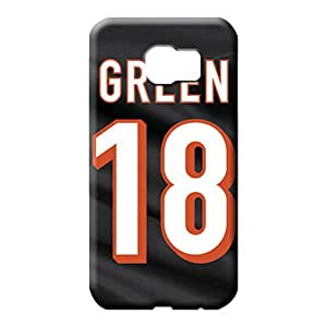 samsung galaxy s6 Ultra Snap-on Durable phone Cases cell phone carrying skins cincinnati bengals nfl football