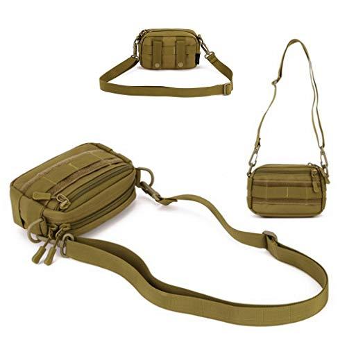 HUNTVP Sac en Bandoulière Sac d'Epaule Tactique Molle Militaire Sac Mini Sacoche Homme Multifonction Petit Sac Homme… 4