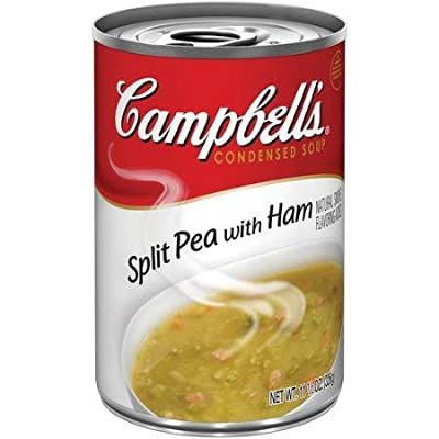 Campbell's Split Pea with Ham & Bacon Condensed Soup 11.5 oz. (Pack of 3)