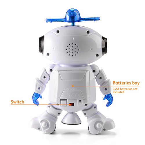 Eligara Dancing Robot Electronic Toys Robot With Musical And