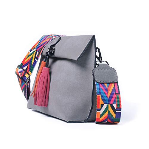 À À Coloré Bracelet Black Sac Bag Main Bandoulière Sac avec TYWZF Sacs Femme Messenger Bandoulière À pITnx1wx
