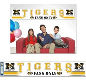 WinCraft Missouri Tigers Party Banner