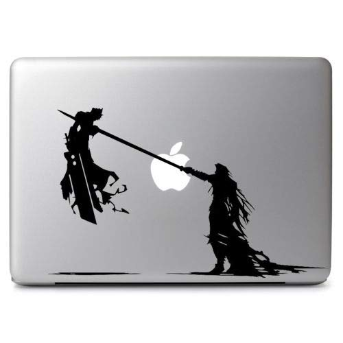 Cloud and Sephiroth Final Fantasy VII for MacBook Air-Pro Laptop Vinyl Decal