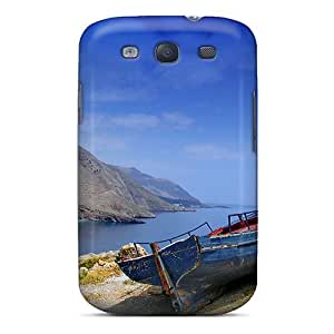 Abrahamcc MkL3591AwcV Case Cover Galaxy S3 Protective Case Boat On Shore