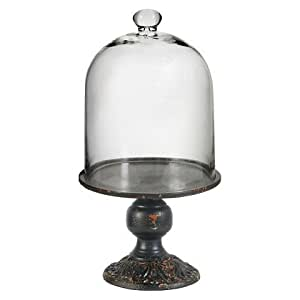 Cake Stand with Glass Dome