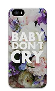 Armener Hard Protective 3D Iphone5 5S Case With Baby Don't Cry