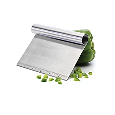 Comixpro Progressive Stainless Steel Bash Chop Scoop Veggies/Garlic/Dough/ 4  T X 6  W
