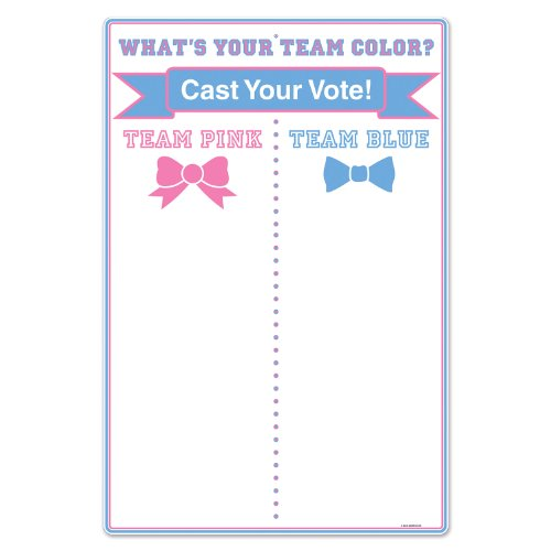 Beistle 54116 Team Voting Tally Board, 211/4 by