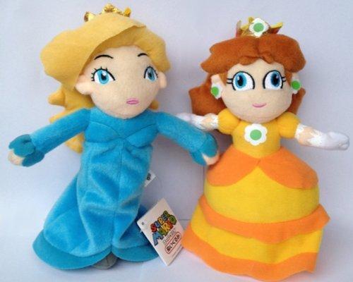 Super Mario Brothers Princess Plush Set Featuring 10