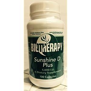 Biotherapy – Sunshine D PLUS (Vitamin D-5000 IU/capsule)