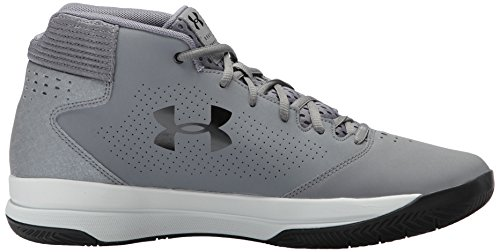 Under Gray Jet Black Basketball 100 Gray Steel Men's Armour Shoe Zinc Zinc White Mid OAqrOw