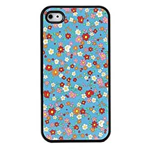 Floral Pattern Hard Case for iPhone 4 and 4S