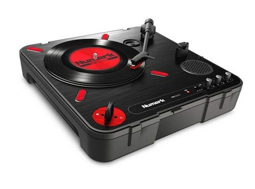 New Numark PT01 Scratch Portable DJ Turntable