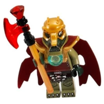 LEGO Legends of Chima: CROMINUS from Croc Tribe Minifigure & Weapons/Accessories: Toys & Games