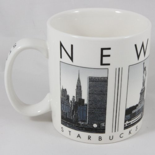 Starbucks Barista 2005 New York City Scenes Series Coffee Mug 16 oz. (Starbucks City Mugs New York)