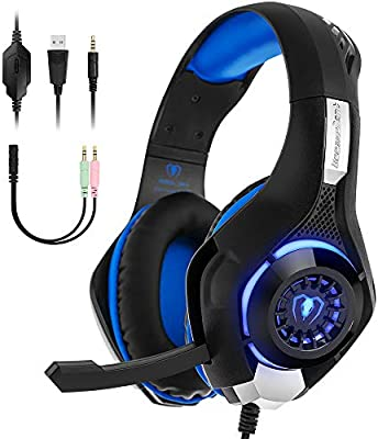 Auriculares Gaming PS4 Xbox One Beexcellent GM-1 Gamer Headphone ...