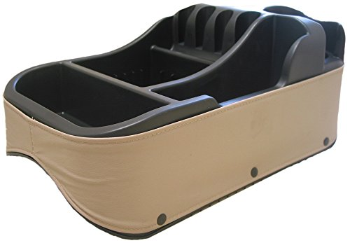 Victoria Crown Console (Texas Saddlebags Clutter Catcher(R) Universal Floor Consoles Taupe (50814))