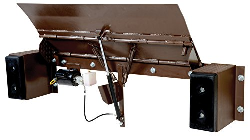 "Vestil PE-2066 Electric Hydraulic Edge-O-Dock Leveler, Steel, 66"" Usable Width, 20,000-lb. Capacity"