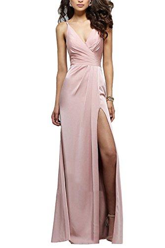 Back Slit Prom Dress - 6