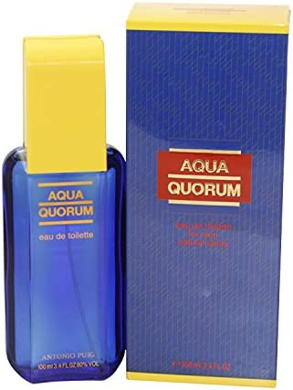 Puig Aqua Quorum Agua de toilette con vaporizador - 100 ml: Amazon ...