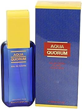 Puig Aqua Quorum Agua de toilette con vaporizador - 100 ml: Amazon ...
