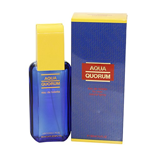 Antonio Puig Aqua Quorum By Antonio Puig For Men. Eau De Toilette Spray 3.4-Ounces