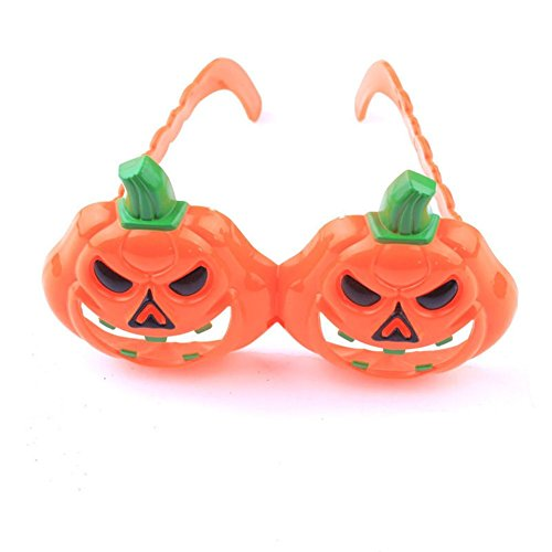 B-B Halloween Pumpkin Terrorist Funny Party Glasses