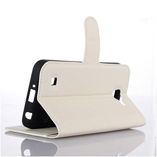 Funda LG K4(2016),Manyip Caja del teléfono del cuero,Protector de Pantalla de Slim Case Estilo Billetera con Ranuras para Tarjetas, Soporte Plegable, Cierre Magnético H