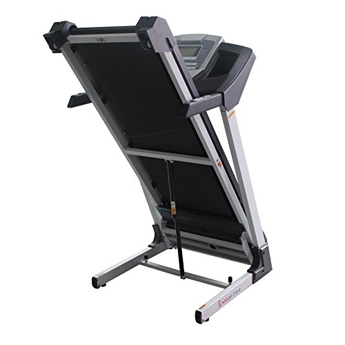 Sunny Health & Fitness SF T7515 Smart Treadmill with Auto Incline, Bluetooth and BMI Calculator