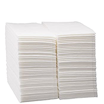 Image of 1000 Count Luxury Linen Feel Disposable Guest Hand Towels in Bulk, Soft & Absorbent Cloth Like Paper Napkin for Bathroom, Kitchen, Weddings, Parties, Dinners or Events, White by eDayDeal