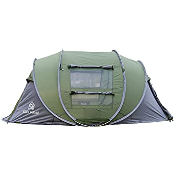 STAR HOME C&ing Pop Up Tent 3 Person Instant Tents Quick Opening Family Tents 3 Person  sc 1 st  Amazon.com & Amazon.com : STAR HOME Camping Pop Up Tent 3 Person Instant Tents ...