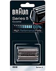 Braun Series 5 52B Elektrisch Scheerapparaat Vervangende scheerkop - Zwart