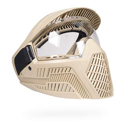 (BASE GS-F Paintball Goggles (FDE/Tan))