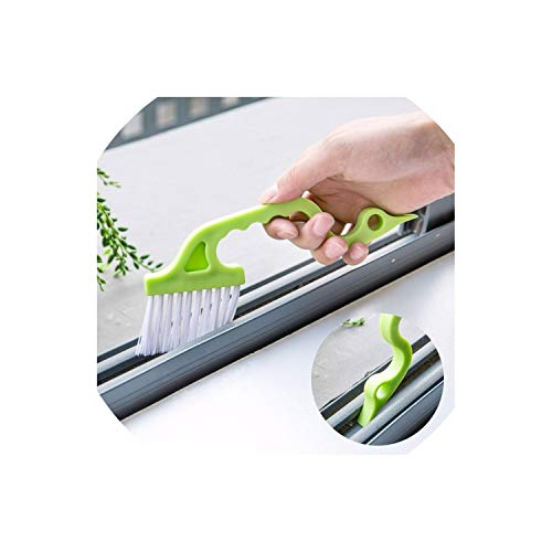 1pc Hand-held Slit Trench Doors Groove Cleaning Brush Kitchen Air Conditioning Outlet Air Louvers Brush Tube Cleaning Brush