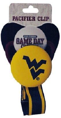 (West Virginia University Pacifier Clip)