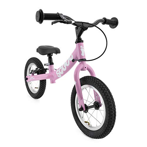 Ridgeback UK 2018 US Edition Scoot 12' Balance Bike (Age 3-6) (Gloss Pink)