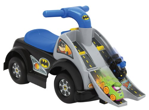 Fisher Price Friends Wheelies Batman Ride