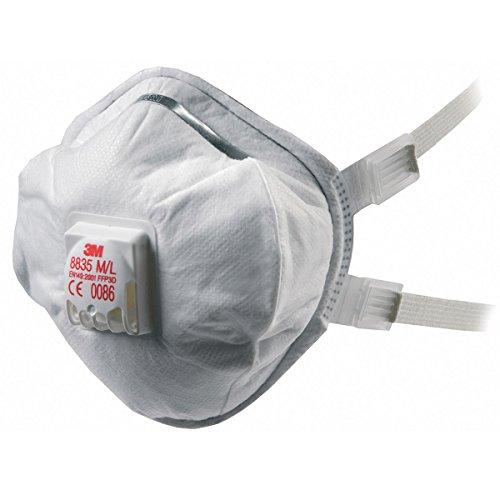 polvo respiratoria metal humo 3m caja niebla 5 8835 gT5qx4w48z